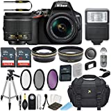 Nikon D3500 DSLR Camera with AF-P 18-55mm VR Lens Bundle Includes 64GB Memory + Professional Camera Accessories
