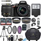 Nikon D3500 DSLR Camera with AF-P 18-55mm VR Lens Bundle Includes 64GB Memory + Professional Camera Accessories