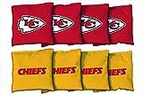 Victory Tailgate 8 Kansas City Chiefs NFL Football Regulation Corn Filled Cornhole Bags
