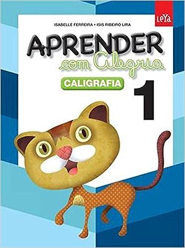 Book Aprender com Alegria. Caligrafia - Volume 1