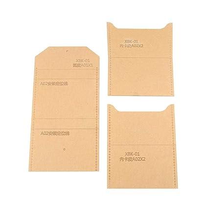 Acryl Brieftasche Vorlagen Mini Transparent Handgemachte