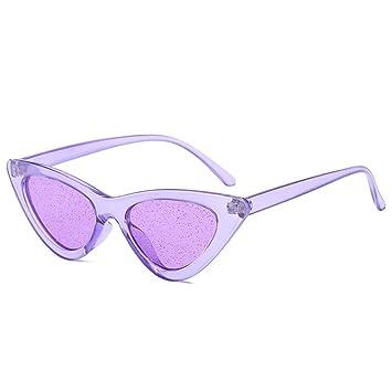 ZHOUYF Gafas de Sol Pequeño Ojo De Gato Gafas De Sol Mujer ...