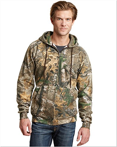 8ZH Realtree Full-Zip Hooded Sweatshirt, Small ()