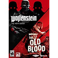 2-Pack Wolfenstei Double Pack for PC by Bethesda