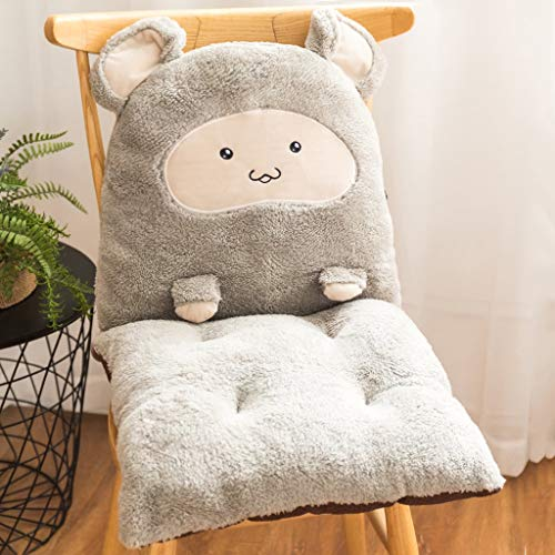 One-Piece Cushion, Plush Office Mat Integrated Non-Slip Mat, Household Pp Sponge Core Filled Cushion (Color : 3)