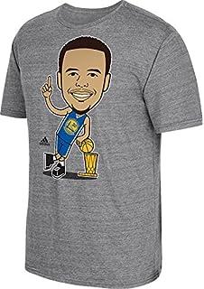 6a54e58c0 Golden State Warriors 2015 NBA Finals Champs Stephen Curry Caricature  Trophy T-shirt