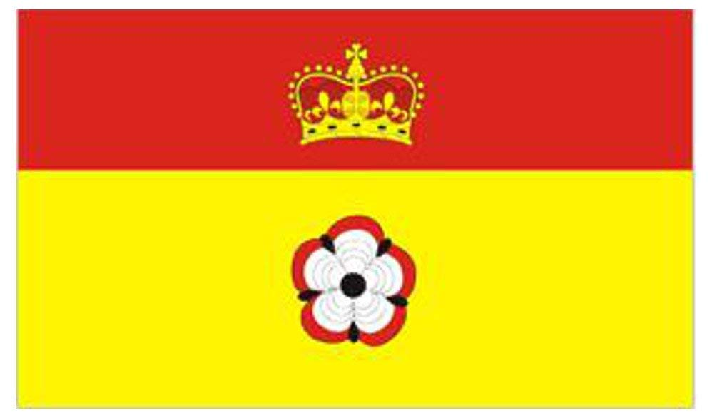 Hampshire Flag 5 x 3 FT English County Flag 100/% Polyester With Eyelets