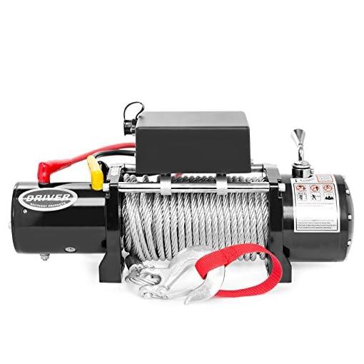Load Capacity Goldenrod Dutton-Lainson Company SA9000DC 12V Electric Winch 3000 lb