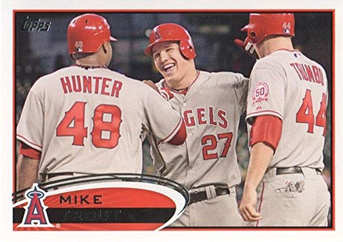 (2012 Topps MLB Baseball Series Complete Mint Hand Collated 660 Card Set Including Series 1 and 2 Cards Derek Jeter First Regular Issue Mike Trout Card Plus Complete M (Mint))