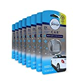 Febreze  Air Freshener, CAR Vent Clip  Air Freshener, Heavy Duty Crisp Clean Air Freshener (8 Count, 0.06 oz)