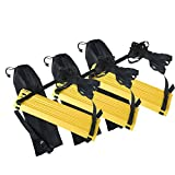 GOGO 3Packs X 12-Rung Speed Agility Ladders Feet Training Equipment For Soccer Speed Football