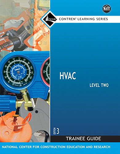 Hvac, Level 2 Trainee Guide (Contren Learning)