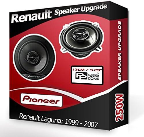 RENAULT LAGUNA Porte arri/ère Haut-parleurs Pioneer 13,3/cm 13/cm Haut-Parleur de Voiture Kit de 210/W