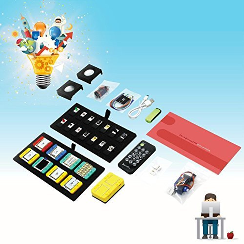 Microduino mCookie 202 Advanced Kit, Educational STEM Toy to Learn Electronics and Programming, Building and Coding Set for Kids Aged 10+ by Microduino (Image #2)