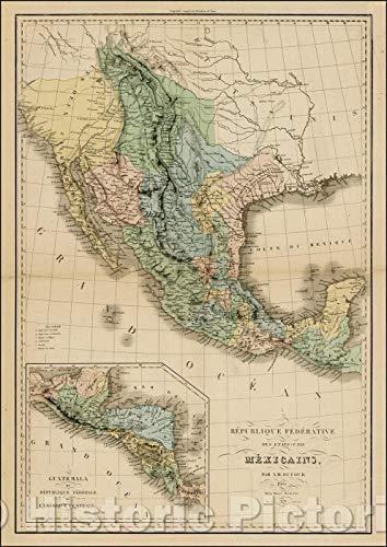 Historic Map | Isles Du Cap-Verd/Map showing the Cape Verde islands, with a large inset of La Rade De La Praya, 1787, Rigobert Bonne | Vintage Wall Art 16in x 24in