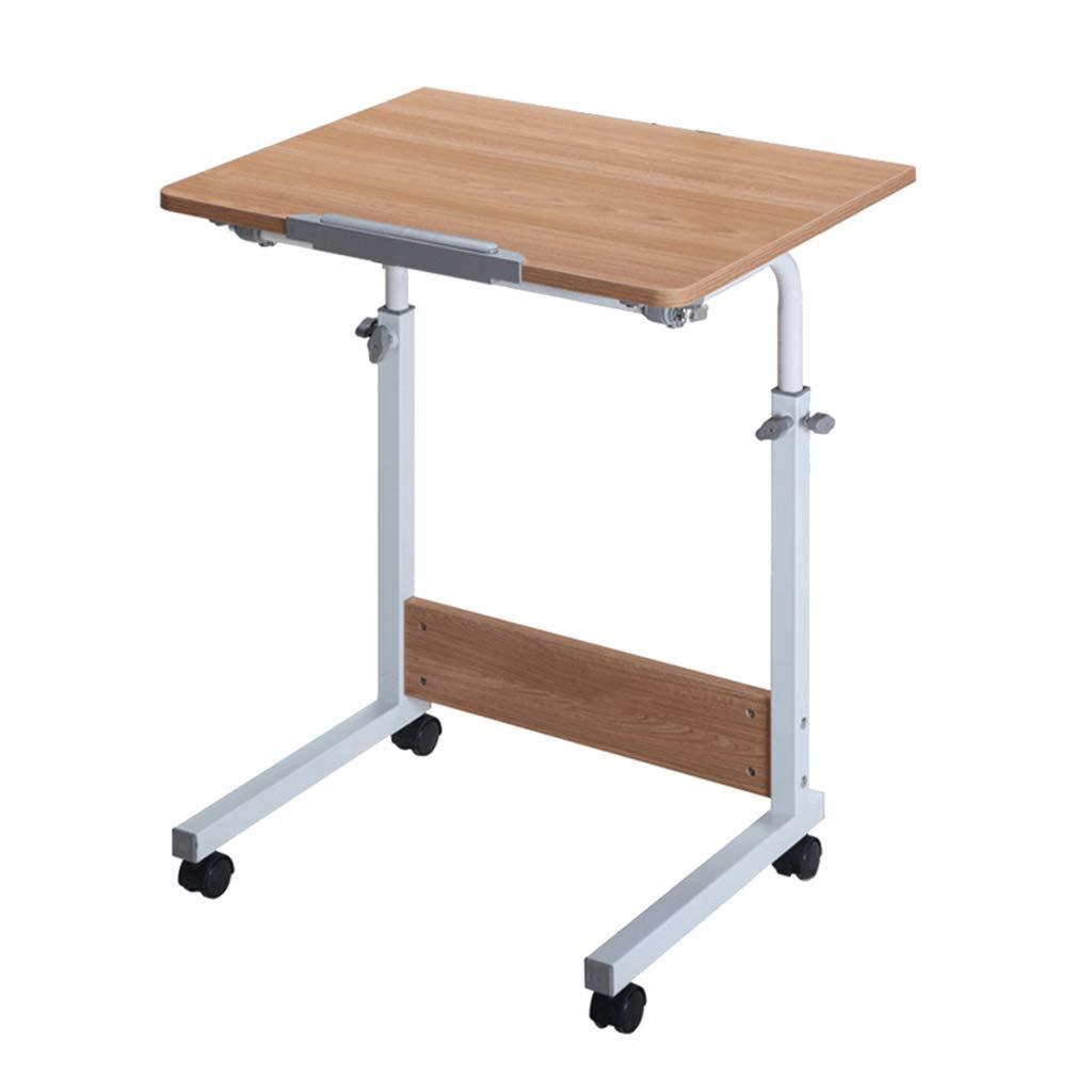モバイルコンピュータデスク、モダンなミニマリスト折りたたみテーブル - 家庭学習ライティングデスク - 調節可能な高さデスク B07JH7YYGV 50X60cm|Brown Brown 50X60cm