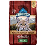 Blue Buffalo Blue Wilderness Rocky Mountain Recipe Adult Red Meat Dry Cat Food, 10 lbs.