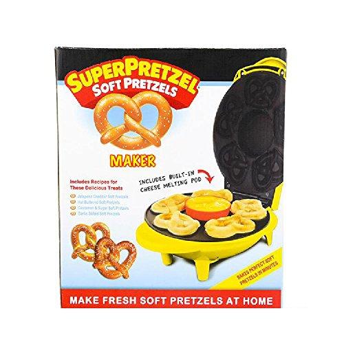 Super Pretzel Mini Soft Pretzel Maker - Soft Pretzel Machine