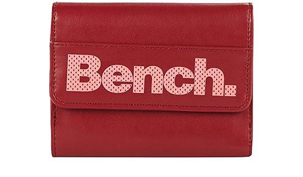 Bench para Mujer Cartera Monedero Rojo Granate Talla:10.0 x ...