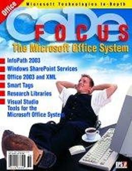 Amazon code focus magazine 2003 vol 1 issue 2 code focus magazine 2003 vol 1 issue 2 microsoft office system fandeluxe Images