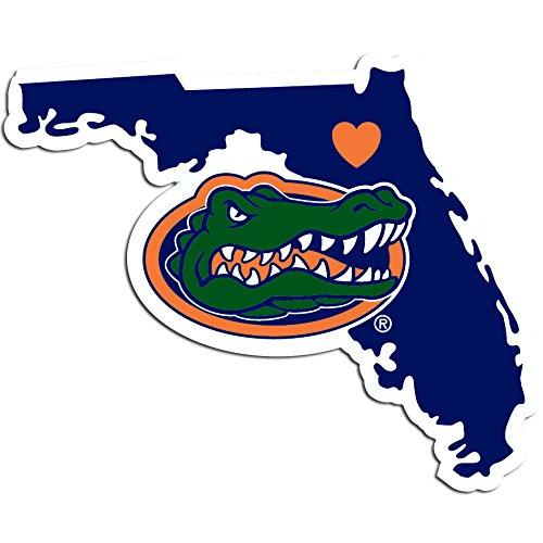 NCAA Florida Gators Home State Decal, 5