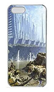 iPhone 5 5S Case Outsiders Art PC Custom iPhone 5 5S Case Cover Transparent