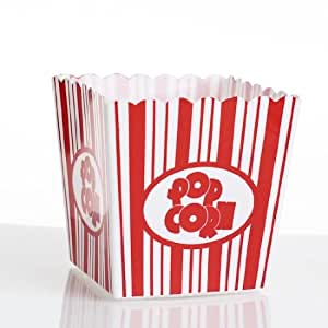 Amazon.com: Factory Direct Craft Party Package of Fun Festive Circus Style Plastic Popcorn Boxes ...
