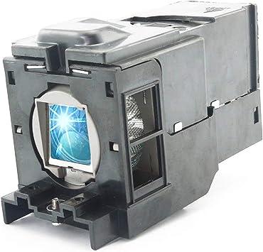 Huaute TLPLV8 Lámpara de Repuesto para proyector con Carcasa para ...
