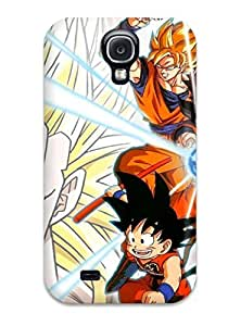 High-quality Durable Protection Case For Galaxy S4(dbz Goku )