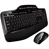 Logitech Wireless Desktop MK710 Ensemble souris + clavier QWERTY Noir (Import UK)