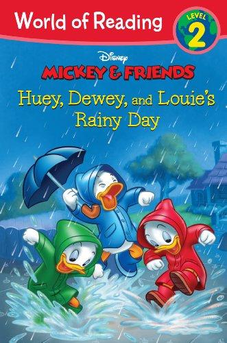 World of Reading: Mickey & Friends Huey, Dewey, and Louie's Rainy Day: Level 2