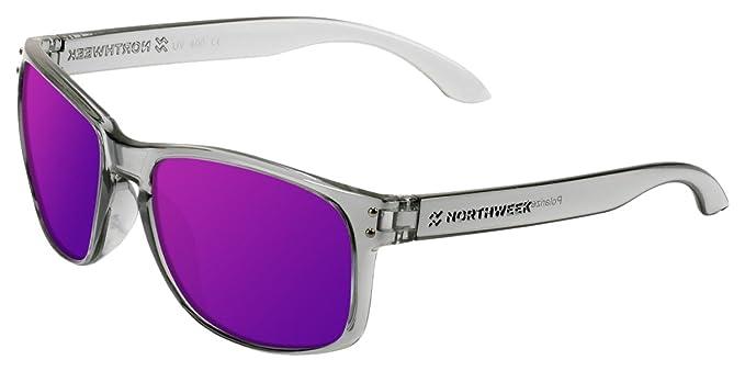 NORTHWEEK Bold Gafas de sol, Morado, 52 Unisex: Amazon.es ...