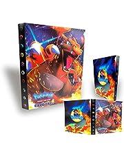 Gxhong verzamelalbum voor boeken, album, GX EX trainer, kaart, 30 pagina's, capaciteit 240 kaarten