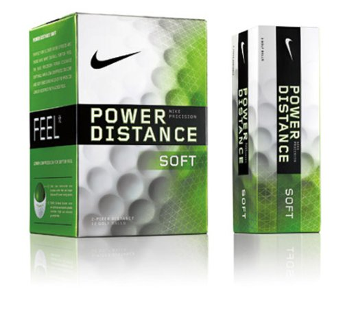 Nike Power Distance Soft Dozen Golf Balls, Outdoor Stuffs