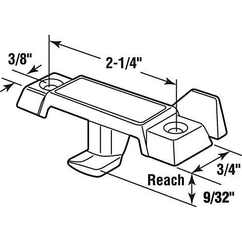 High Quality Slide Co 174045 78 Inch Drop Cam Window Sash Lock With