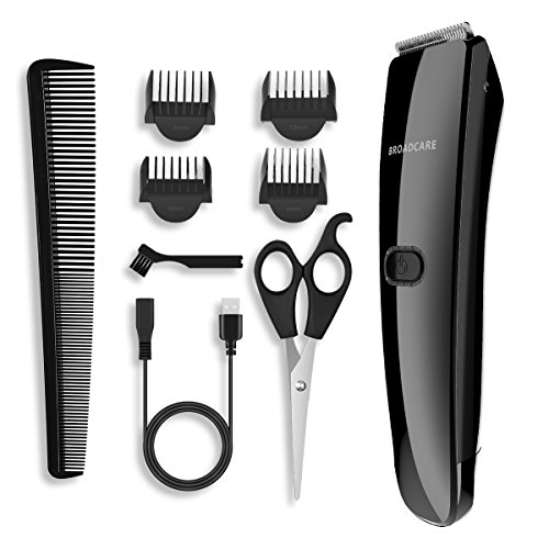 Hair Trimmer for Men, Broadcare Cordless Rechargable Hair Cl