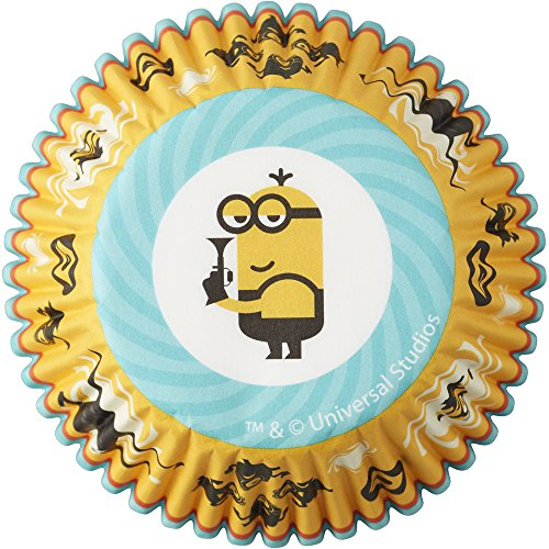 Wilton 415-7112 50 Count Despicable Me 3 Minions Cupcake Liners, Assorted -