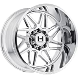 HOSTILE Sprocket Chrome Wheel  (24x14'', 8x180mm, -76mm Offset)