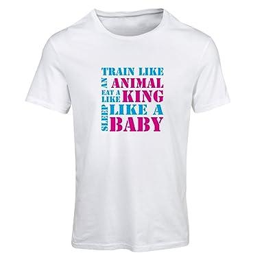 c77d3590e1ba7 lepni.me T-Shirt Femme Entraînez-Vous Dur