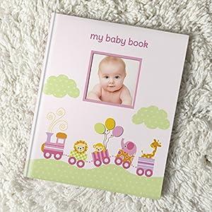 Lil Peach Safari Train Baby Memory Book