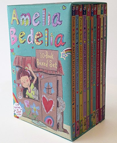 Amelia Bedelia Chapter Book 10-Book Box Set by Greenwillow Books