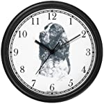 English Springer Spaniel Dog (MS) Wall Clock by WatchBuddy Timepieces (White Frame) 5