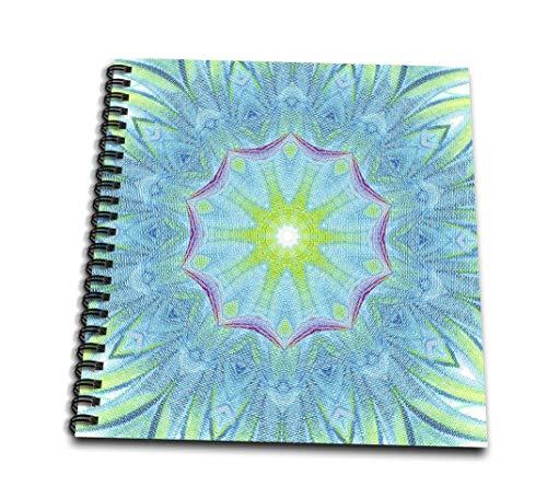 CherylsArt patrones Caleidoscopio - azul rojo amarillo del Caleidoscopio de aspas de - libro de dibujo