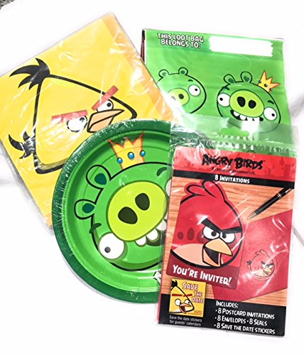 Angry Birds Party Supply Pack Set of 8