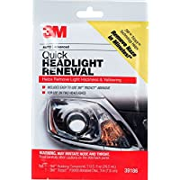 firstclassletter Headlight Lens Cleaner and Repair Polish Restorer Pad Removes Haze and Yellowing in 2 Minutes