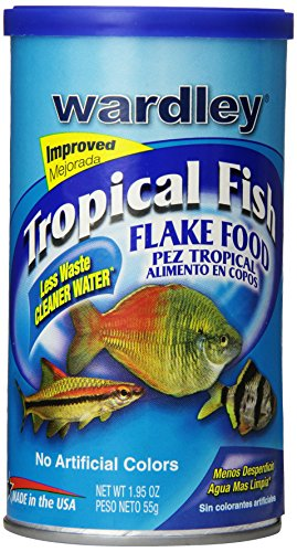 Wardley Tropical Fish Food Flakes - 1.95oz (Flake Fish Food)
