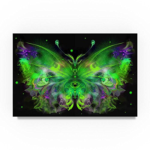 Butterfly 5 by RUNA, 22x32-Inch Canvas Wall Art by Trademark Fine Art