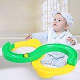 Mmrm Baby Kids Educational S Shape Track Rubber Ball Infinite Loop Hand Eye Sensory Toy
