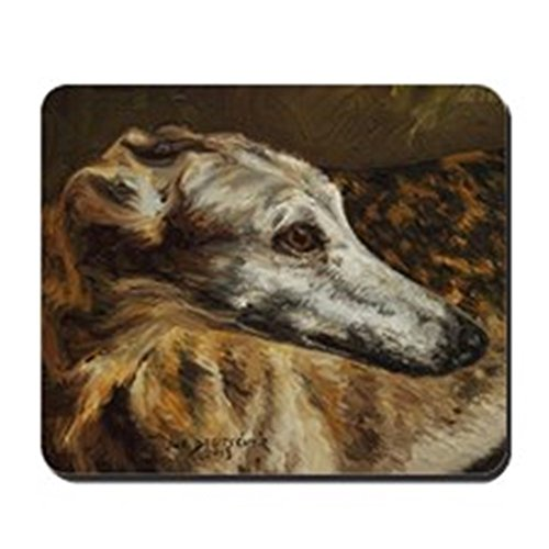 CafePress - Greyhound - Non-slip Rubber Mousepad, Gaming Mouse Pad