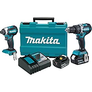 Makita XT269M 18V LXT Lithium-Ion Brushless Cordless 2-Pc. Combo Kit (4.0Ah)